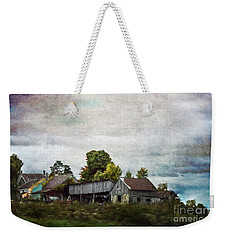Vermont Barn Weekender Tote Bag by Judy Wolinsky