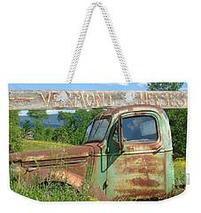 Vermont Cheese Weekender Tote Bag