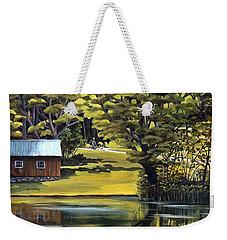 Vermont Greens Weekender Tote Bag