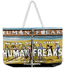 Weekender Tote Bag featuring the photograph Vermont Sideshow by Granger