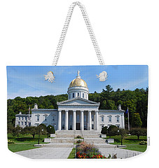 Vermont State House Weekender Tote Bag
