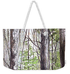 Vermont Woods Weekender Tote Bag by Laurie Rohner