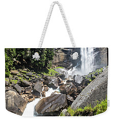 Weekender Tote Bag featuring the photograph Vernal Falls- by JD Mims