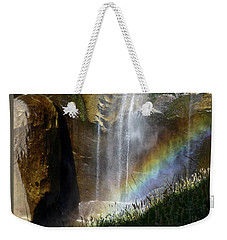 Vernal Falls Rainbow And Plants Weekender Tote Bag