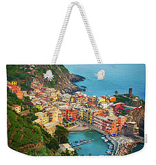 Vernazza From Above Weekender Tote Bag