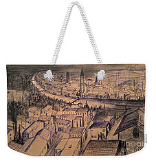 Verona Birdview Drawing Weekender Tote Bag