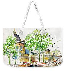 Vers Pont Des Artes Weekender Tote Bag by Pat Katz