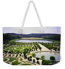 Versailles Digital Paint Weekender Tote Bag