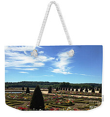 Weekender Tote Bag featuring the photograph Versailles Palace Gardens by Therese Alcorn