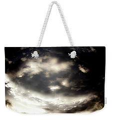 Weekender Tote Bag featuring the photograph Versus by Eric Christopher Jackson