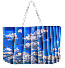Weekender Tote Bag featuring the photograph Vertical Sky by Paul Wear
