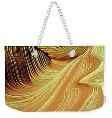 Vertical Wave Weekender Tote Bag