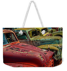Very Late Models Weekender Tote Bag
