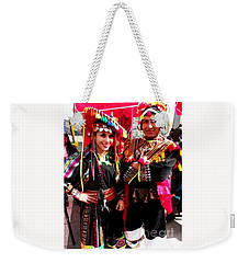 Very Proud Bolivian Dancers Weekender Tote Bag