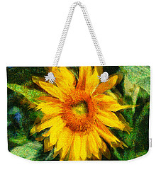 Very Wild Sunflower Weekender Tote Bag