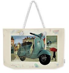 Vespa Memories Weekender Tote Bag