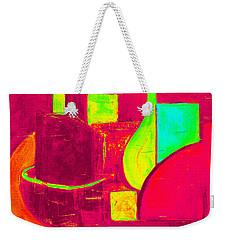 Vessels Very Colorful Weekender Tote Bag