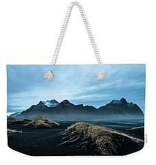 Vestrahorn Mountain Evening Weekender Tote Bag