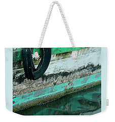 Weekender Tote Bag featuring the photograph Veteran by Joe Jake Pratt