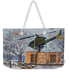 Veterans Memorial Park In Tonawanda Weekender Tote Bag
