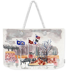 Veteran's Memorial Park Weekender Tote Bag