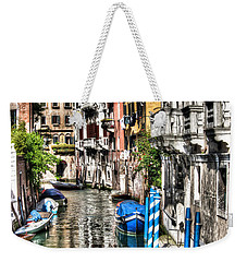 Weekender Tote Bag featuring the photograph Viale Di Venezia by Tom Cameron