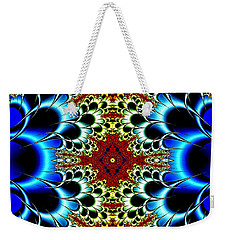 Vibrancy Fractal Cell Phone Case Weekender Tote Bag