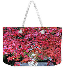 Weekender Tote Bag featuring the photograph Vibrant Autunno Italiano by Jennie Breeze
