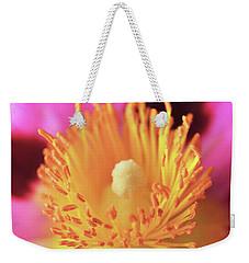 Vibrant Cistus Heart. Weekender Tote Bag by Terence Davis