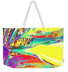 Vibrant Fascination  Weekender Tote Bag by Rachel Hannah