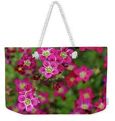 Vibrant Floral Weekender Tote Bag