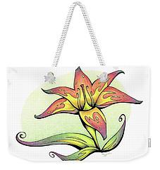 Vibrant Flower 4 Tiger Lily Weekender Tote Bag