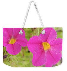 Vibrant Flowers Weekender Tote Bag