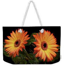Vibrant Gerbera Daisies Weekender Tote Bag by Terence Davis