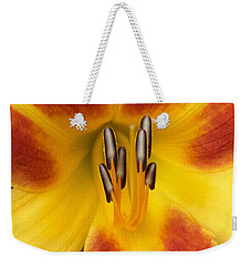 Vibrant Lilly Weekender Tote Bag