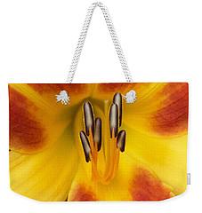 Vibrant Lilly Weekender Tote Bag by Tiffany Erdman