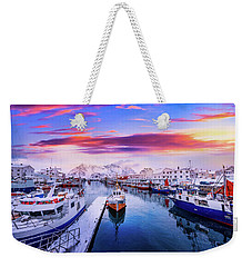 Vibrant Norway Weekender Tote Bag