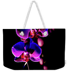 Vibrant Orchids Weekender Tote Bag