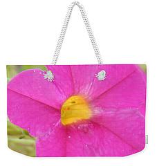 Vibrant Pink Flower Weekender Tote Bag