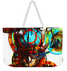 Vibrant Sphere Series 995.042312vsx2 Weekender Tote Bag by Kris Haas
