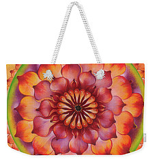 Vibration Of Joy And Life Weekender Tote Bag