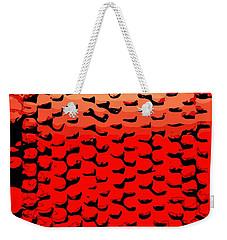 Vibrational Bricks Weekender Tote Bag