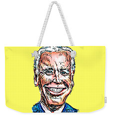 Vice President Joe Biden Weekender Tote Bag by Robert Yaeger