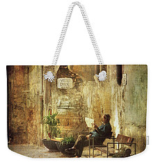 Vicolo Chiuso   Closed Alley Weekender Tote Bag