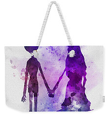 Victor And Emily Weekender Tote Bag by Rebecca Jenkins