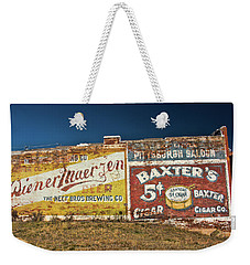 Victor Colorado Building Murals Weekender Tote Bag