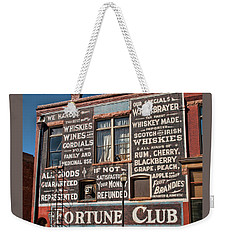 Victor Fortune Club Weekender Tote Bag
