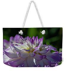 Victoria Ann Dahlia 2 Weekender Tote Bag