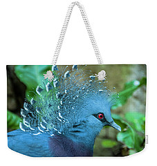 Victoria Crowned Pigeon Weekender Tote Bag