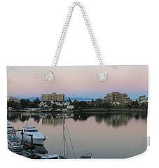 Victoria Harbor Dawn Weekender Tote Bag
